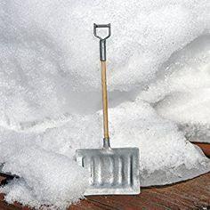 Miniature Fairy Garden Snow Shovel on Amazon