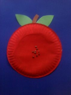 apple template preschool | Crafts For Preschoolers: August 2011