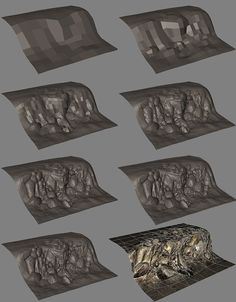 rock tutorials - Polycount Forum