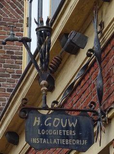 Amersfoort Krankeledenstraat 26 -H. Gouw - loodgieters installatiebedrijf