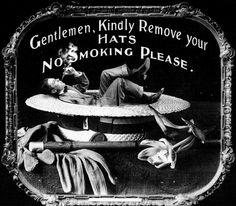 Silent Movie Etiquette, 1910's