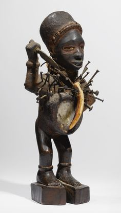 KONGO NAIL POWER FIGURE, DEMOCRATIC REPUBLIC OF THE CONGO | lot | Sotheby's