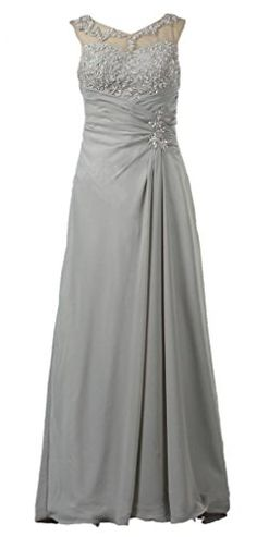 ANTS Women's Appliqued Chiffon Mother of the Bride Evening Dress Long Size 2 US Grey ANTS http://www.amazon.com/dp/B00O9S302E/ref=cm_sw_r_pi_dp_Dz8avb0XKV6YA