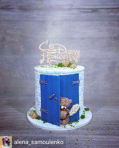 Cake Decorating With Fondant, Creative Cake Decorating, Cake Decorating Techniques, Cake Decorating Tutorials, Baby Birthday Cakes, Baby Boy Cakes, Girl Cakes, Baby Shower Cakes, Bolo Minnie