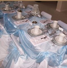 Love the Tablecloth draping