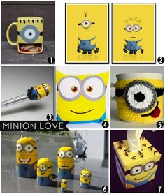 Decoration Inspiration: For the Love of Minions #minion #homedecor #geek