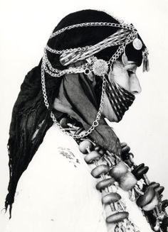 Africa | Imeghrane woman from Ouarzazate region. Morocco. | © Jean Besancenot, ca. 1935 - 50.