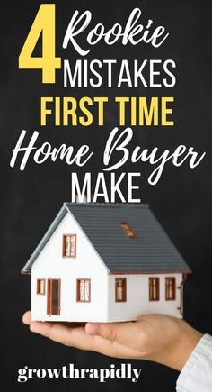 Thinking of buying a house soon? If you're a first time home buyer, keep reading to avoid making these mistakes. #buyingahouse #homedecor #firsttimehomebuyer #creditscore #home #loans