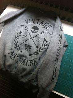Vintage Massacre Pullover