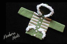 CROCHET+PATTERN+for+Baby+Boy+or+Girl+Striped+Fur+by+NewbornKnots,+$4.50