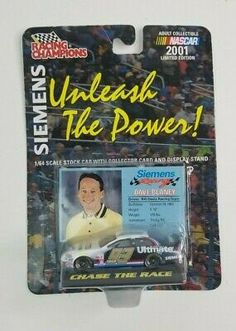 NEW 2001 AMOCO 93 DAVE BLANEY RACING CHAMPIONS 1:64 SCALE STOCK CAR MIP
