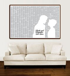 Pride and Prejudice Poster - Full Text Artwork of Jane Austen's Book on Readable Poster! on Etsy, $34.99