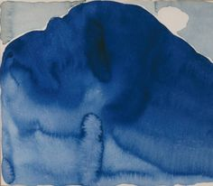 Georgia O'Keeffe. Blue Hill No. II, 1916