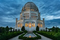 Baha'i Temple in Wilmette Illinois - Architecture and Urban Living - Modern and Historical Buildings - City Planning - Travel Photography Destinations - Amazing Beautiful Places Wilmette Illinois, Temple, Victoria Building, Photography Competitions, Large Photos, Historical Sites, Photo Contest, Abandoned Places, Mothers