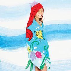 Disney Princess Ariel Hooded Towel | Avon www.youravon.com/tseagraves #littlemermaid