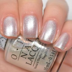 """opi """"Kitty White"""" from the Hello Kitty collection."""