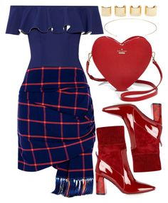 """""""Untitled #614"""" by iamsamball on Polyvore featuring Lisa Marie Fernandez, Thakoon Addition, Kate Spade and Luv Aj"""