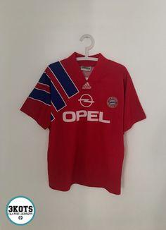 Details about BAYERN MUNICH 1991 93 Home Football Shirt (M) Soccer Jersey  Vintage ADIDAS 48dabb94d