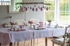 diy flower shabby chic spring easter table