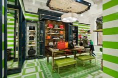 If you want to see the lovechild of Tory Burch and Kate Spade check out C. Wonder pop-up shop on Main Street.