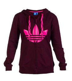 adidas Full zip hoodie Adjustable colored shoe lace drawstring on hood Screen print adidas logo on front 2 front pockets