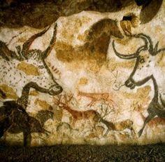 Lascaux II is the facsimile of the original cave. It is an exact copy of the 2 main halls of Lascaux, closed to the public in It contains of the paintings of Lascaux. The Lascaux II tour is. Lascaux Cave Paintings, Art Pariétal, Paleolithic Art, Art Rupestre, Cave Drawings, Art Pierre, Art Ancien, Art Antique, Aboriginal Art
