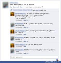 Chemistry jokes lolol