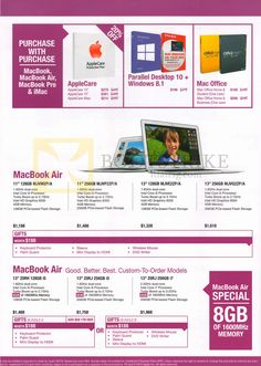 Awesome! Macbook Air & Macbook Pro brochures collections