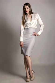 Perfect neutrals--love this look!