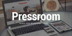 Pressroom is a responsive HTML Template best suitable for news, newspaper, magazine or review sites. Each and every element of the Template has been tested to ensure it adapts to modern smarthphones and tablets. Tags: html template, article, boxed, clean, dark, high contrast, magazine, mobile, news, newspaper, rating, responsive, review, social, sticky, wide.