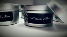 Spa candles collection set,  relax,  renew,  joy and purify All made from Soy Wax, no metal wicks and 100% pure grade essential oils