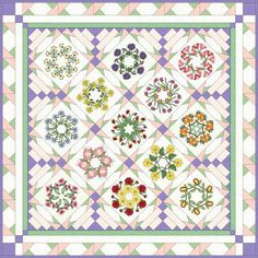 Quilts, good idea for border and sashing