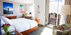Shorebreak Hotel: I like the bed & dresser & desk!