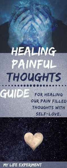 Thoughts need love. They need love and to be communicated with to find healing from emotional wounds. Here is our process for healing painful thoughts. Toxic Relationships, Healthy Relationships, Emotional Resilience, Anxiety Relief, Stress Relief, Mental Health Issues, Learn To Love, Coping Skills, Self Improvement