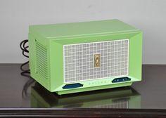 Antique 1954 Philco AM Radio Model C-584 Plays And Looks Great