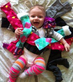 diy: baby leg warmers