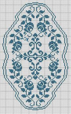 Kira scheme crochet: Scheme crochet no. Crochet Embellishments, Crochet Doily Patterns, Loom Patterns, Thread Crochet, Crochet Doilies, Stitch Patterns, Knit Crochet, Crochet Flower, Cross Stitch Borders