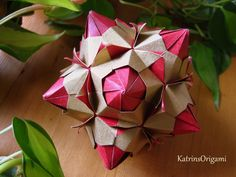 Origami ♥ Paloma ♥ Kusudama