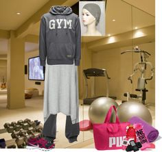 """Modest Workout Outfit"" by christianmodesty ❤ liked on Polyvore"