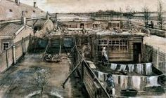Image result for photos and paintings of laundry