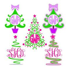 Sparkle Christmas Tree Monogram Cuttable Design Cut File. Vector, Clipart, Digital Scrapbooking Download, Available in JPEG, PDF, EPS, DXF and SVG. Works with Cricut, Design Space, Sure Cuts A Lot, Make the Cut!, Inkscape, CorelDraw, Adobe Illustrator, Silhouette Cameo, Brother ScanNCut and other compatible software.