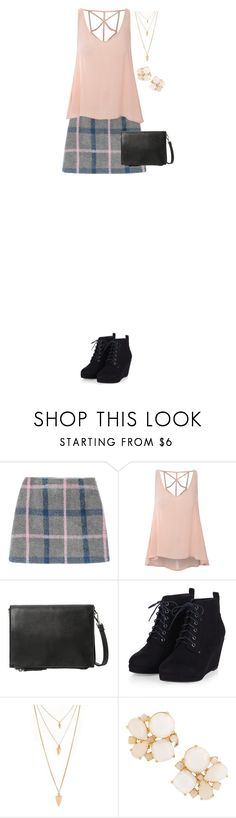 """""""Untitled #572"""" by sarahlong3019 ❤ liked on Polyvore featuring Glamorous, Violeta by Mango, Forever 21 and Kate Spade"""