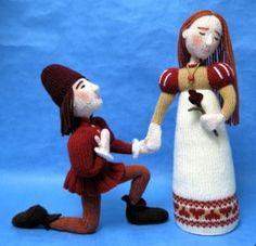 Romeo &Juliet Alan Dart knit toys