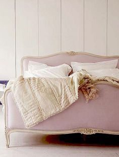 bed3 by {this is glamorous}, via Flickr    This is an inspiration for a bedroom makeover. Satin Pink and Gold are the colors. Bedroom set must be Gold or have gold embroideries. Toooo excited.