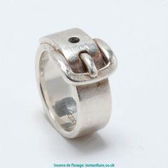 Génial Bague Hermes Boucle Ceinture Hermès Ring Ceinture Argent Massif T48  Silver Silver Ref. A6796 d52422a0454