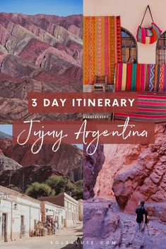 Things to do in Jujuy, Argentina: The Perfect Itinerary — Sol Salute Things to do in Jujuy Argentina South America Destinations, South America Travel, Travel Destinations, Holiday Destinations, Backpacking South America, Machu Picchu, Puerto Iguazu, Stuff To Do, Things To Do