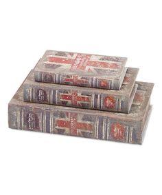 Look at this #zulilyfind! British Flag Book Box Set #zulilyfinds
