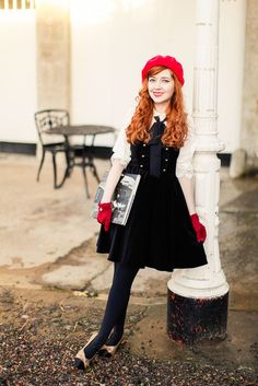 A Clothes Horse: Outfit: Retro Chic In Act Three Apparel