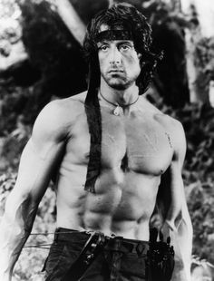Sylvester Stallone Rambo: First Blood Part Ii Photo Bare Chested Iconic , Hollywood Actor, Hollywood Stars, Classic Hollywood, Sylvester Stallone Quotes, Stallone Rocky, Silvester Stallone, First Blood, Film Movie, Movies