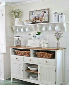 Like the big cup hooks under the shelf for a drink station